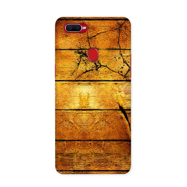 Wood Plank Case for Oppo F9 Pro