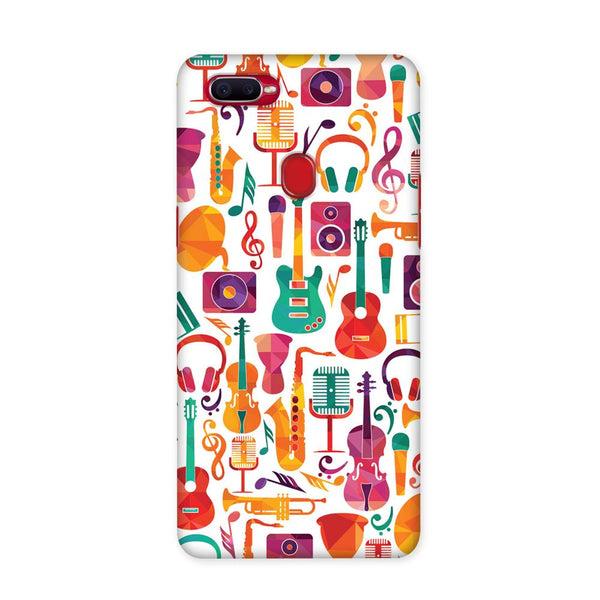 Music Doodle Case for Oppo F9 Pro