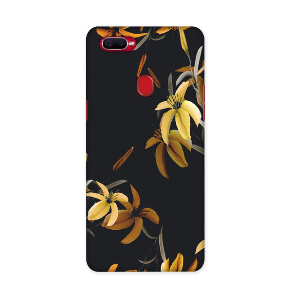 Yellow Flowers Case for Oppo F9