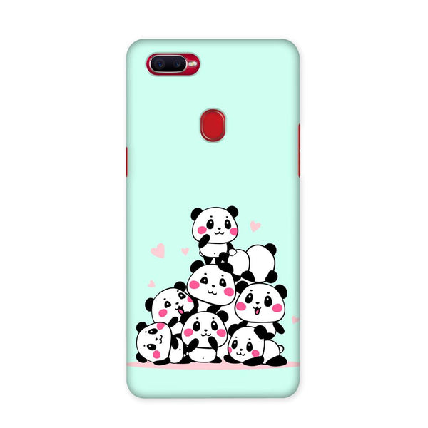 Panda On Top Case for Oppo F9 Pro