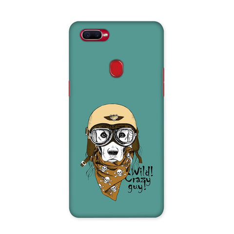 Wild Crazy Guy Case for Oppo F9 Pro