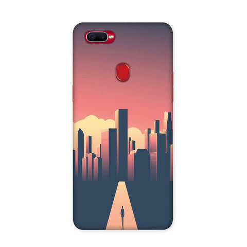 Walk To The City Case for Oppo F9