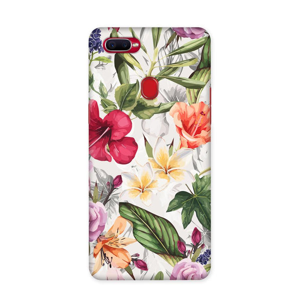 Zingy Flowers Case for Oppo F9 Pro