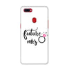White Future Mrs Case for Oppo F9 Pro