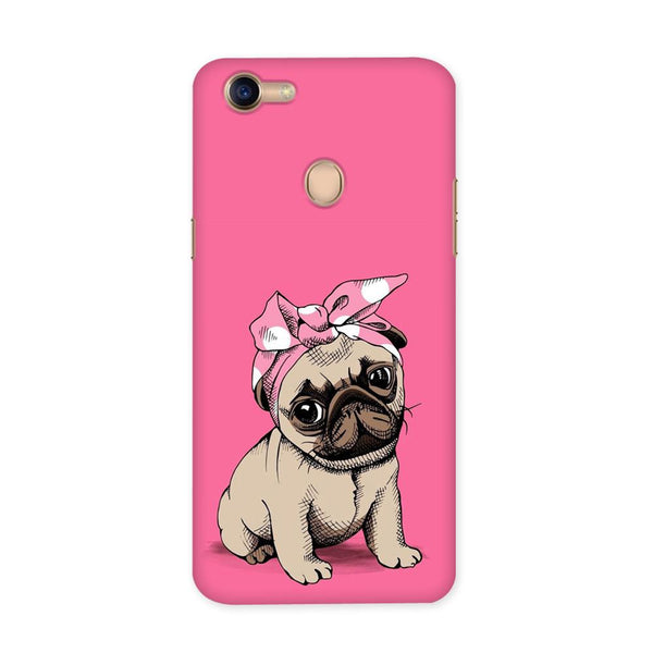 Pinky Pug Case for Oppo F5