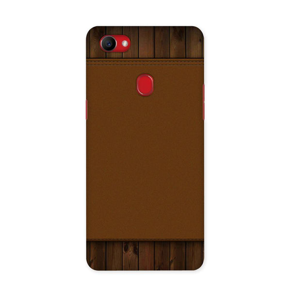 Brown Cosmo Case for Oppo F7