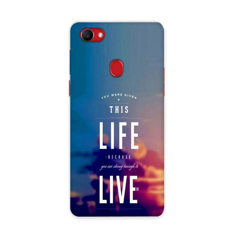 Live On Case for Oppo F7