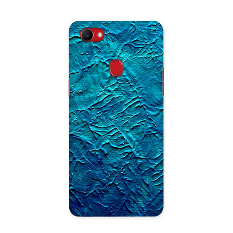 Painted in Blue Case for Oppo F7