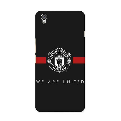 ManU Black Case for OnePlus X