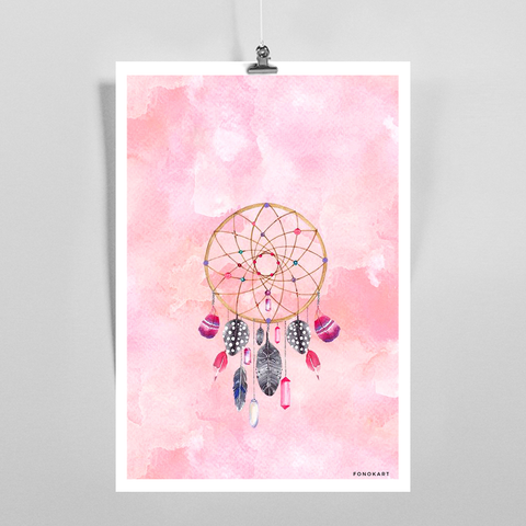 Dreamcatcher Hovic Art Print