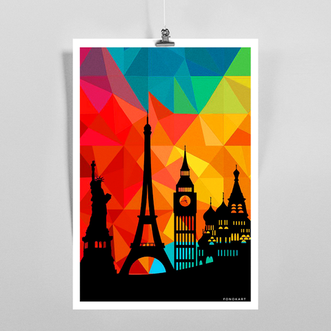 Go Places Art Print