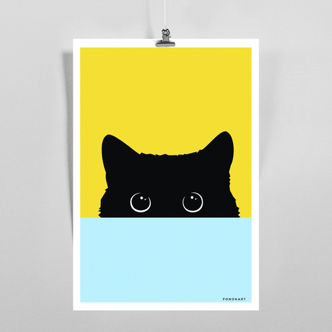 That Cat Art Print
