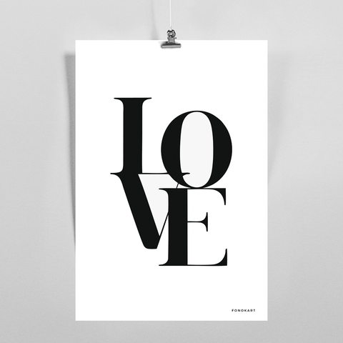 Love Magma  Art Print