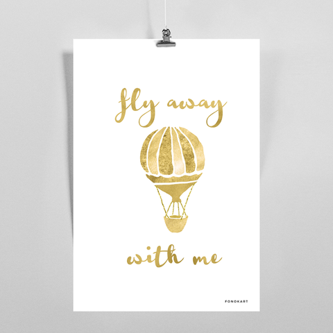 Flay Away  Art Print