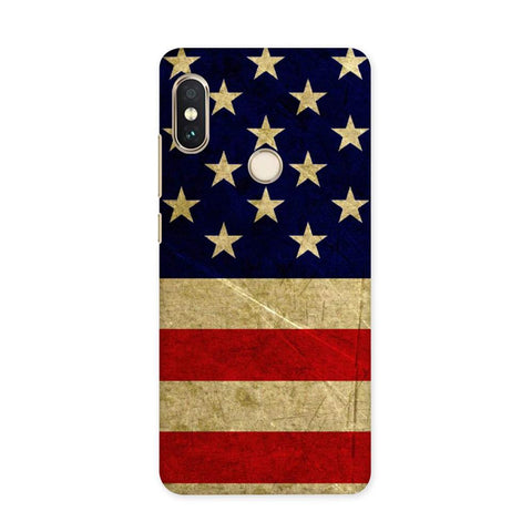 US Flag Case for Redmi 5 Pro