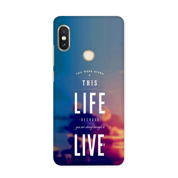 Live On Case for Redmi 5 Pro