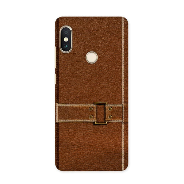 Leather Bind Textured  Case for Redmi 5 Pro