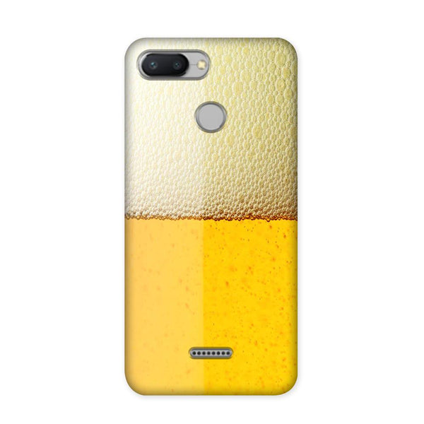 Beer Yellow Case for Redmi 6