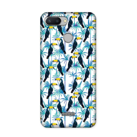 Birds in Tropical Case for Redmi 6
