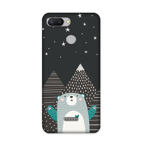 Bear Under The Stars Case for Redmi 6