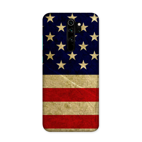 US Flag Case for Redmi Note 8 Pro Pro