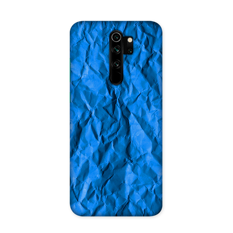Crumpled Blue Case for Redmi Note 8 Pro Pro