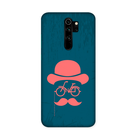 Hipster Blue Case for Redmi Note 8 Pro Pro