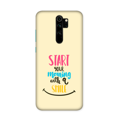 Morning Smile Case for Redmi Note 8 Pro Pro