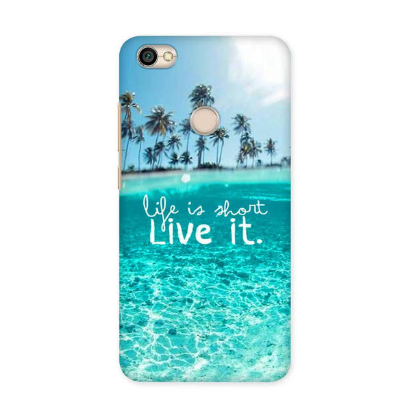 Live Your Life Case for Redmi Y1