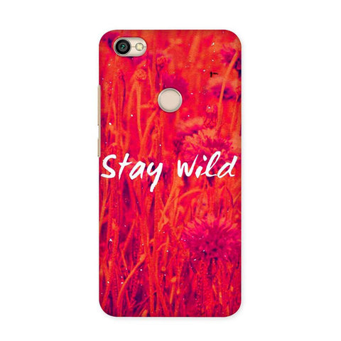 Stay Wild Case for Redmi Y1