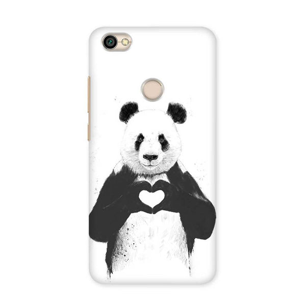 Panda in Love Case for Redmi Y1