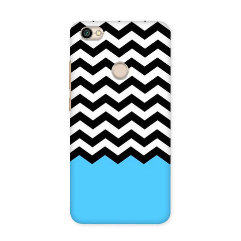 Black & White Chevron Case for Redmi Y1
