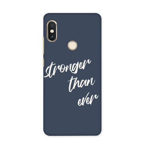 Stronger Than Ever Case for Redmi Y1