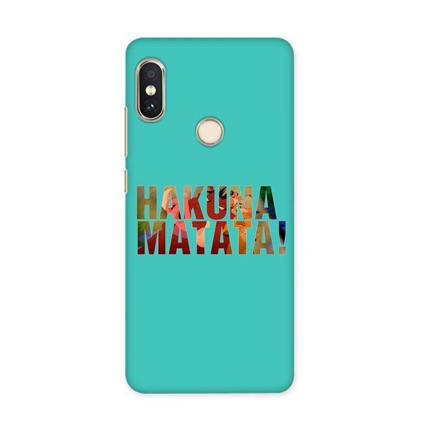 Hakuna Matata Blue Case for Redmi Y1