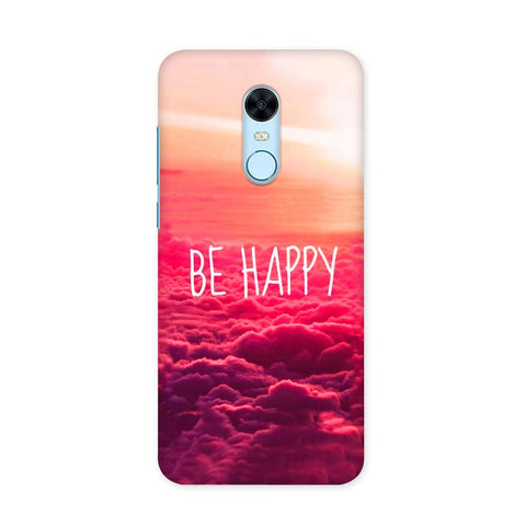 Be Happy Case for Redmi Note 5