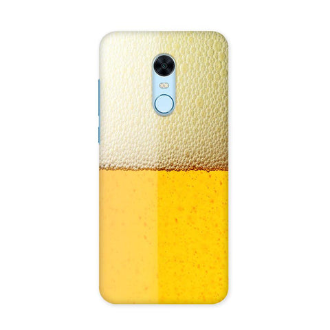Beer Yellow Case for Redmi Note 5