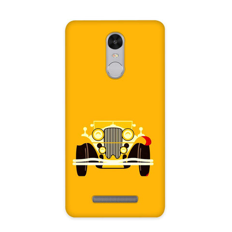 Vintage Car Case for Redmi Note 3