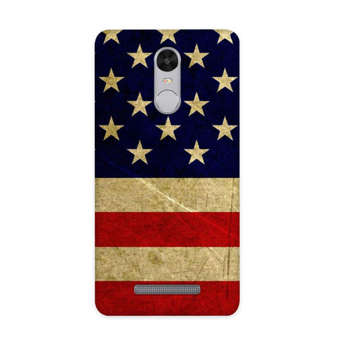 US Flag Case for Redmi Note 3