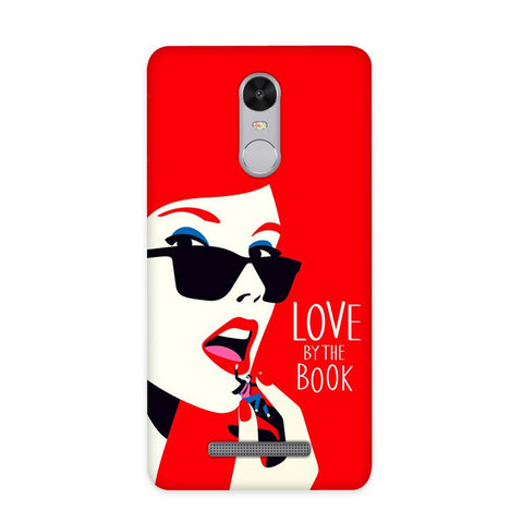 Love By The Book Case for Redmi Note 3