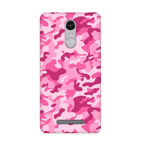 Pink Camouflage Case for Redmi Note 3