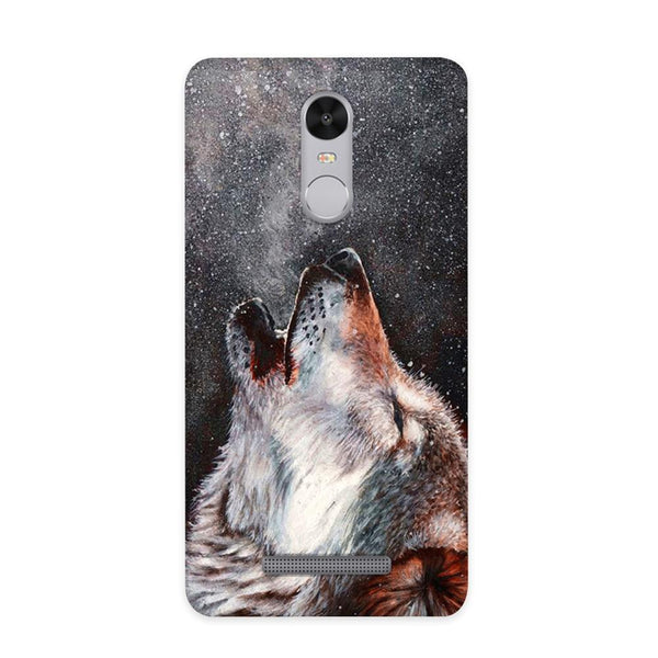 Winter Dog Case for Redmi Note 3