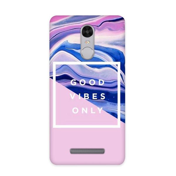 Good Vibes Only Case for Redmi Note 3