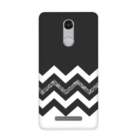 Monochrome Chevron Case for Redmi Note 3