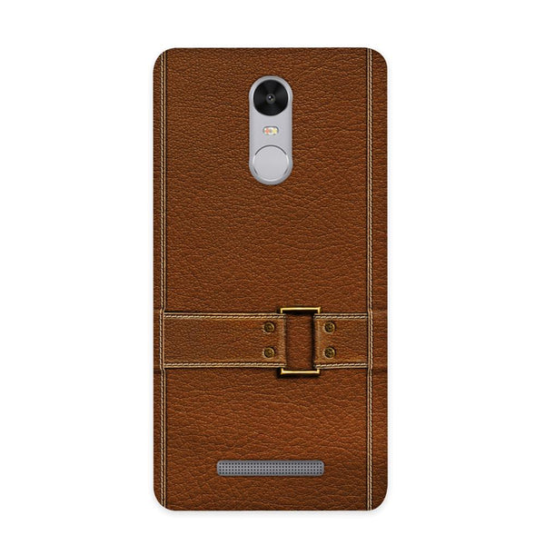 Leather Bind Textured Case for Redmi Note 3