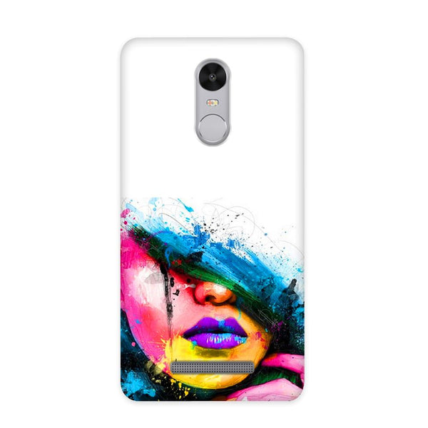 Purple Lips Case for Redmi Note 3