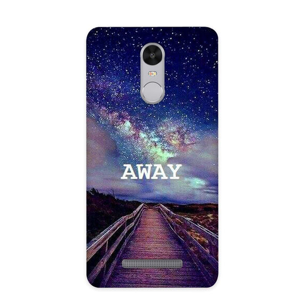 Take Me Away Case for Redmi Note 3