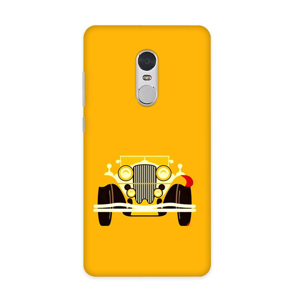 Vintage Car Case for Redmi Note 4