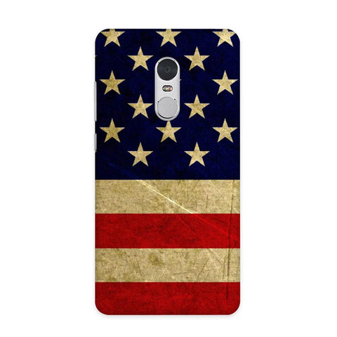 US Flag Case for Redmi Note 4