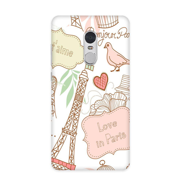Paris & Me Case for Redmi Note 4