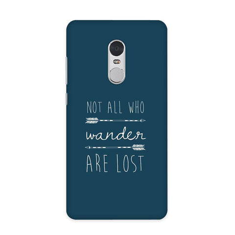 Not Lost Case for Redmi Note 4